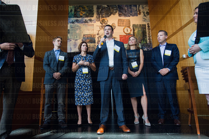 The Puget Sound Business Journal's 40 Under 40 Awards Luncheon at Benaroya Hall in Seattle, Wash.