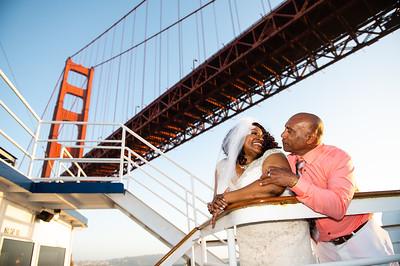 Kenya & Tomas / Hornblower yacht SF
