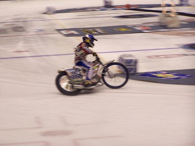 XIIR - Xtreme Int'l Ice Racing - U.S. Bank Arena, Cincinnati - 17 Jan '04
