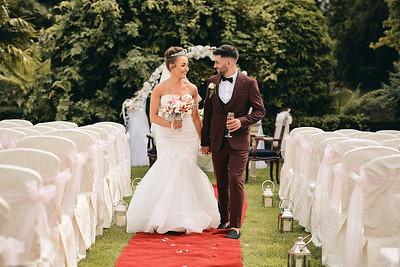 Rebecca & Graham`s Wedding at the Johnstown Estate
