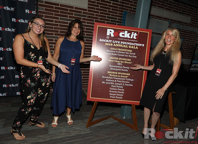 Rockit Live Foundation 2018 Gala. Two River Theater 8/9/18