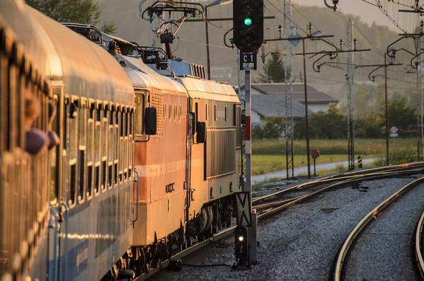 Budapest to Lyublyana by Train, August 2012