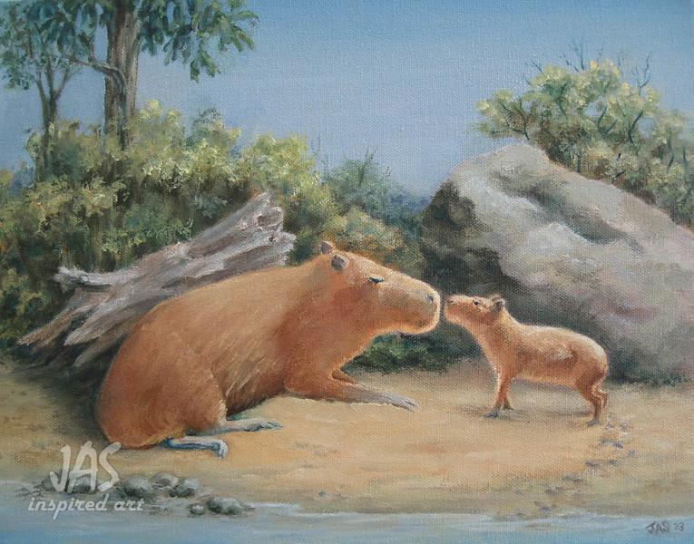 Good Morning Capybaras