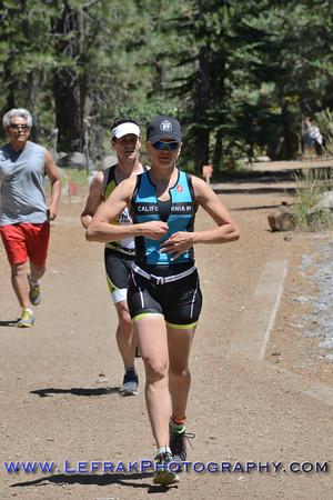 Donner Lake Olympic and Half Triathlon 2013 Run