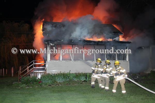 6/4/18 - Mason house fire, 4662 Barnes Rd