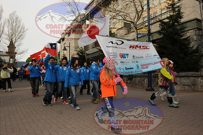 Whistler Cup - Friday Parade and awards