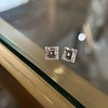 1.47ctw Carre Cut Diamond Pair GIA F VS2 13
