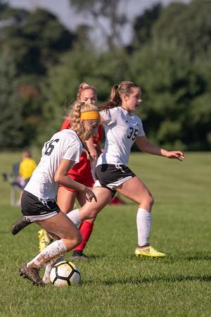 SVHS Girl's Varsity Soccer vs. Moravian