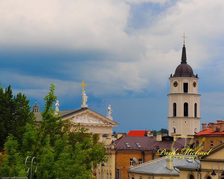 Katedras from Tilto Hotel, Vilnius