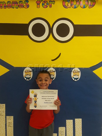 Scholar of the Month- May