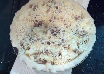 Bratwurst Pie
