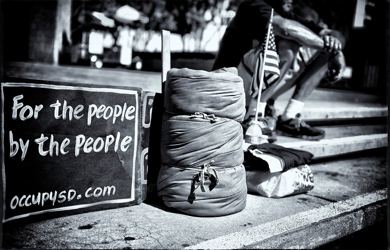 Picture taken at Occupy San Diego