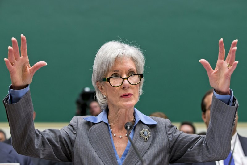 ". <p>2. (tie) KATHLEEN SEBELIUS <p>�DON�T DO THIS TO ME!� (unranked) <p><b><a href=\'http://www.twincities.com/national/ci_24416134/sebelius-heads-hill-defend-health-law-job\' target=""_blank\""> HUH?</a></b> <p>    (AP Photo/J. Scott Applewhite)"