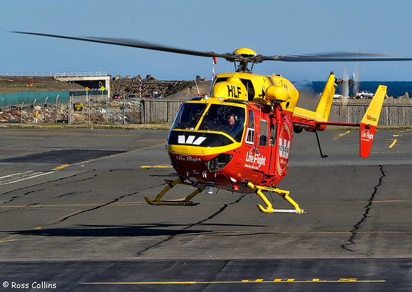 Lifeflight Trust Kawasaki BK-117 B-2 at Wellington 2016