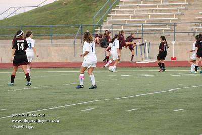 PHS JV Girls Soccer vs Round Rock Feb 28 2014