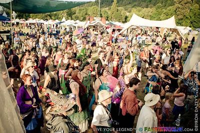 Crowds & Vendors by Byron Dazey