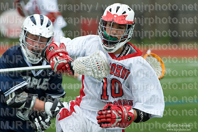 Lacrosse, Boys H.S. Varsity, St Johns VS Wesport, 05-09-09