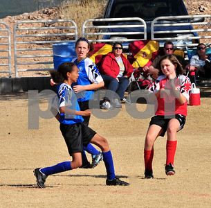 Blue Soccer Playoff Game 1