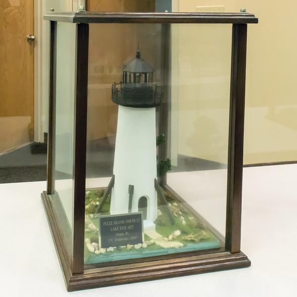 Pelee Island North Light - 1833, Model built 2000