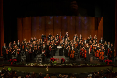 High School Orchestra - 12/10/2019 Christmas Concert