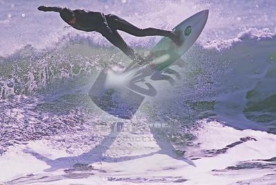 3/21/2004 - Surfing at Camp Hero State Park - Montauk, NY