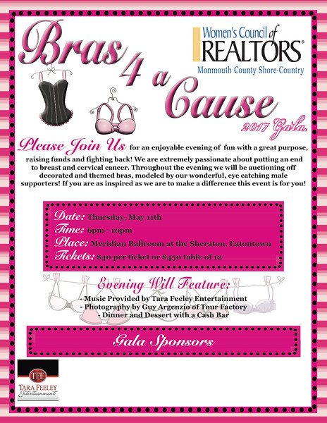 Bras For A Cause 2017