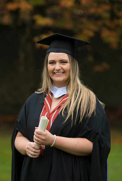 31/10/2018. Waterford Institute of Technology (WIT) Conferring Ceremonies 2018. Pictured is Laura Murphy Gorey.Picture: Patrick Browne