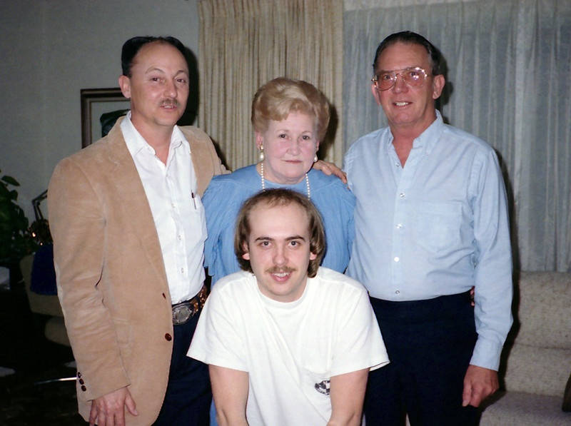 Ronald Ray (Ronnie) Howell,  Evelyn (Wasson) Howell, Reedie A Stone Jr,  Craig Howell