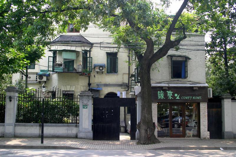 old French quarter, Shanghai June 2004 Shanghai Atmosphere