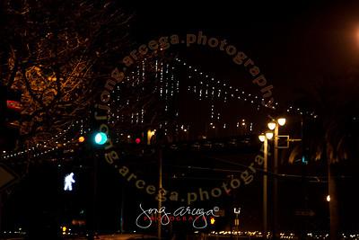 San Francisco Bay Bridge Light Show