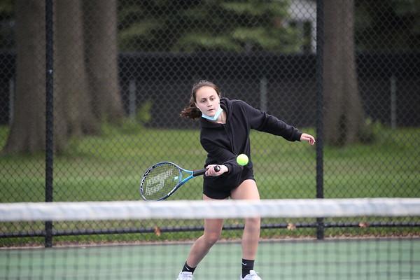 Edsel Girls Tennis vs Fordson