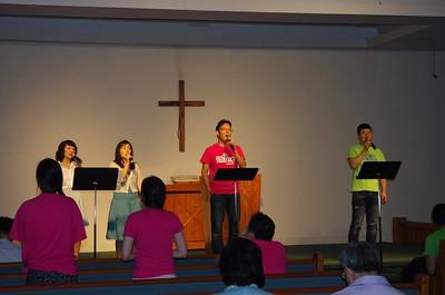 단기선교 기도 후원자의 밤