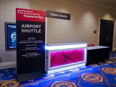 Shuttle Airport Counter - E25