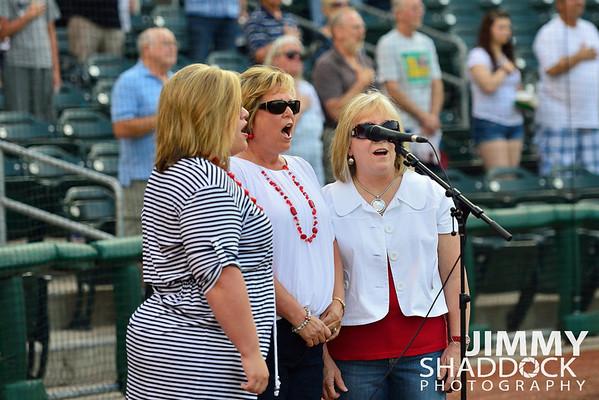 Ladies Trio National Anthem June 21