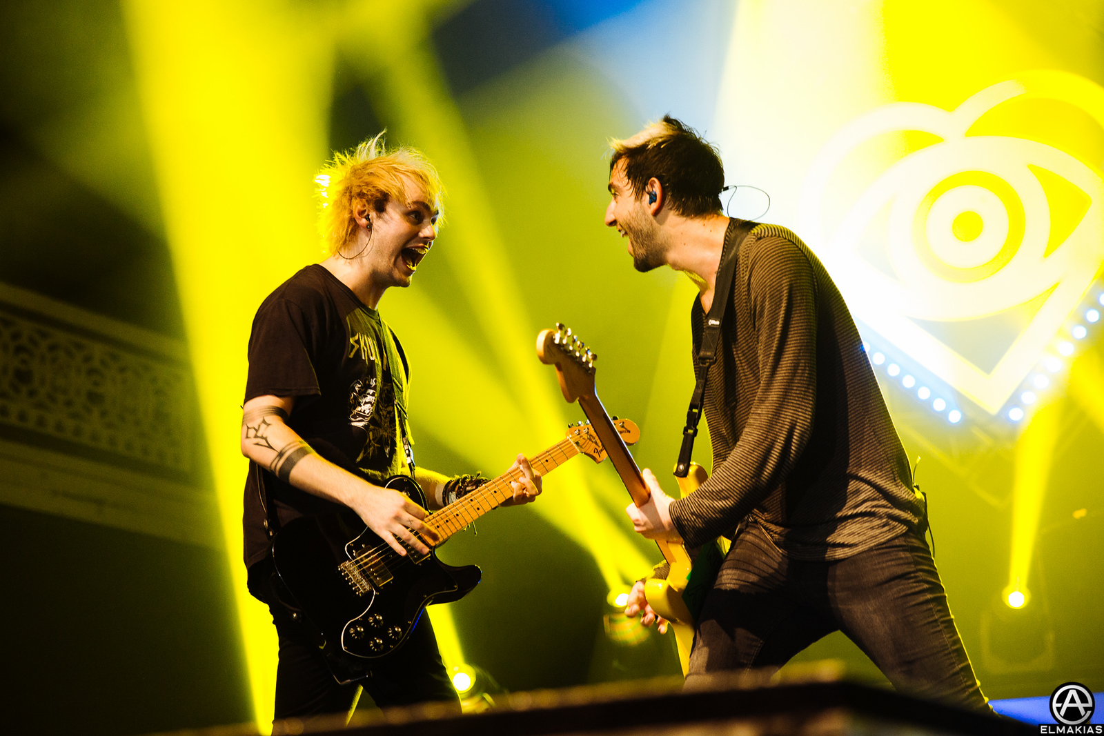 All Time Low and Michael Clifford of 5 Seconds Of Summer