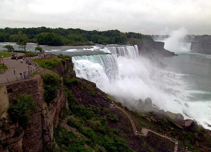 The American Falls, Niagara Falls NY