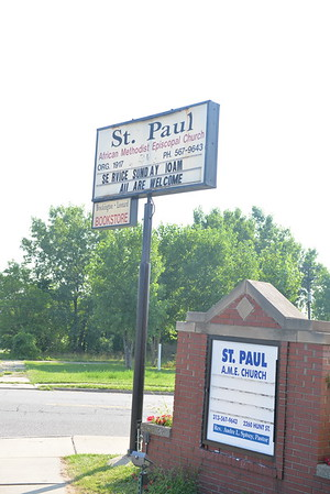 2018 St Paul AME Farewell Sunday for Pastor, Andre Spivey