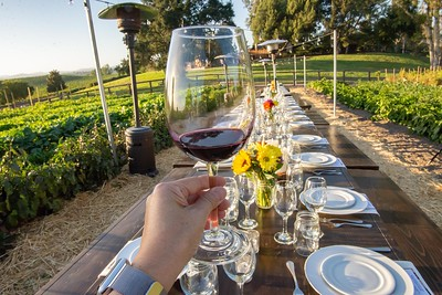 20180921 K Syrah Dinner - setting