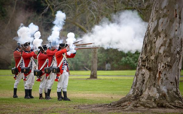 Revolutionary War Reenactment Huntington Beach
