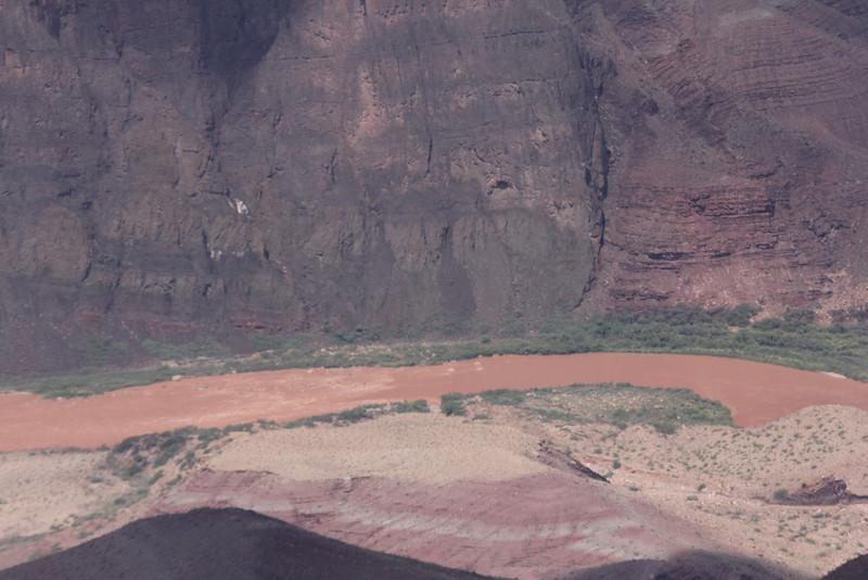 277 river miles of the Colorado River runs through the Grand Canyon
