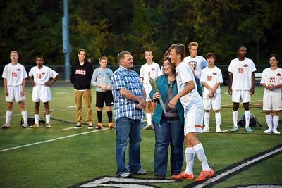 PC Soccer Senior Night vs Grandview