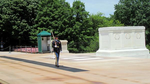 Saturday in DC - Arlington Cemetery, Lincoln Memorial, Korean War Memorial