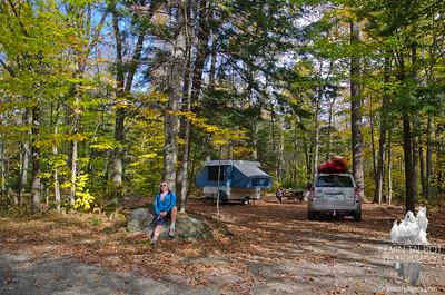 Webb Lake/Mount Blue State Park 10-10-12-13
