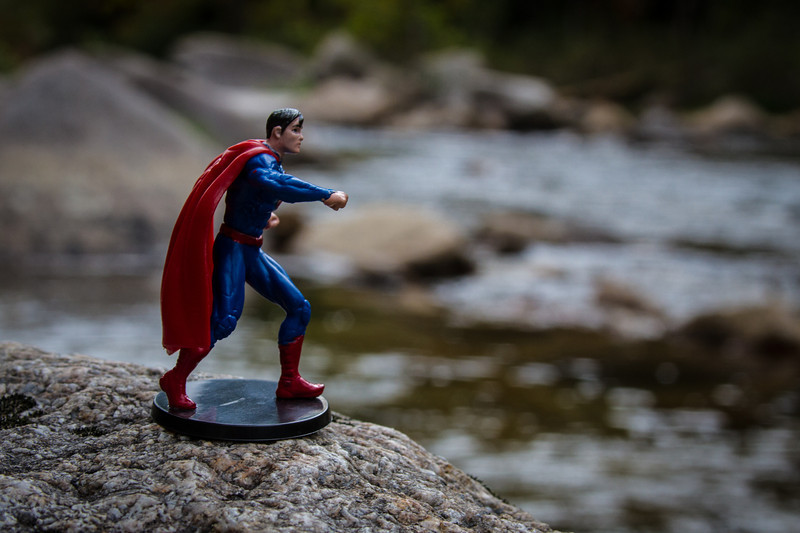 Superman at Wilson Creek