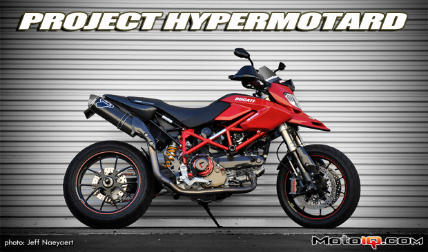 Project Ducati Hypermotard: Part VI, Saving Weight