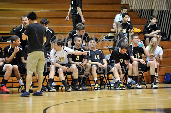 Berks Catholic VS Brandywine Boys Volleyball 2011 - 2012