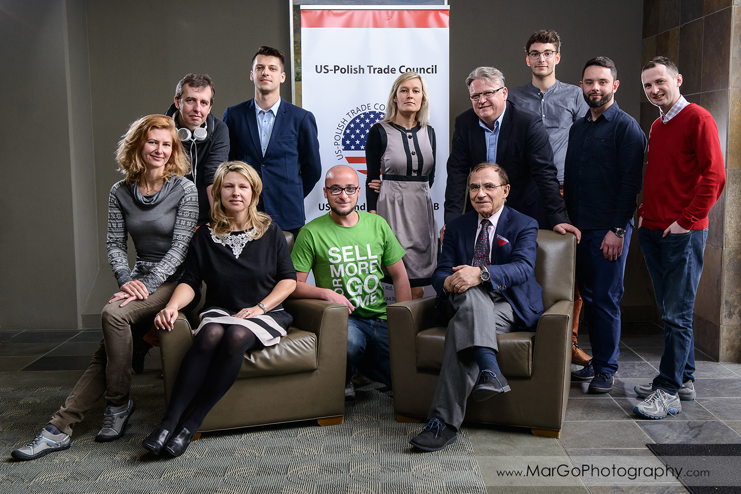 business portrait of the group of people