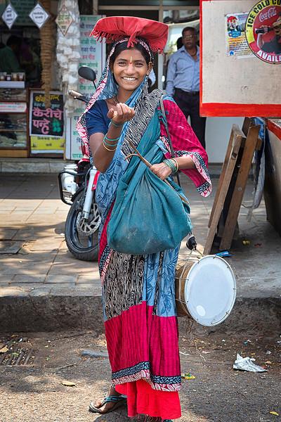 Woman in Mumbai