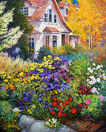 Northwest Garden Paintings