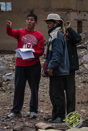 Construcción de un comedor en la escuela con la ayuda de César Espejo Chavez de Cusco - Totora - Calca - Cusco - Perú